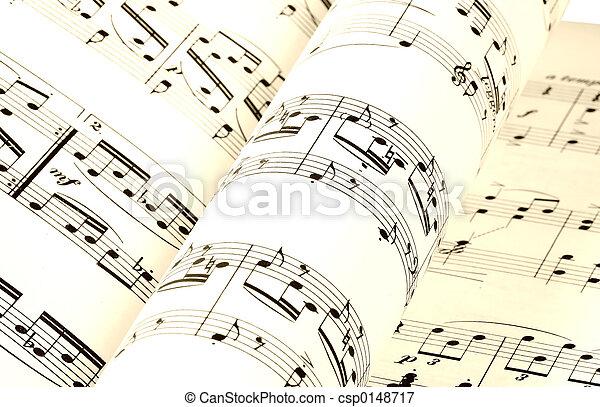 Música hoja. Hoja de música, páginas imagen - Buscar galería de ...