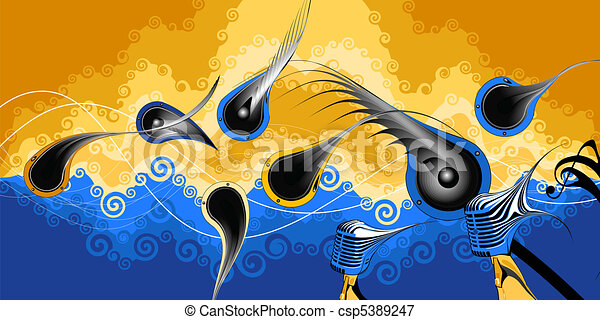 música - csp5389247