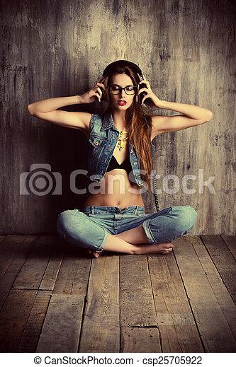 música, tempo - csp25705922