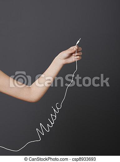 música, tempo - csp8933693