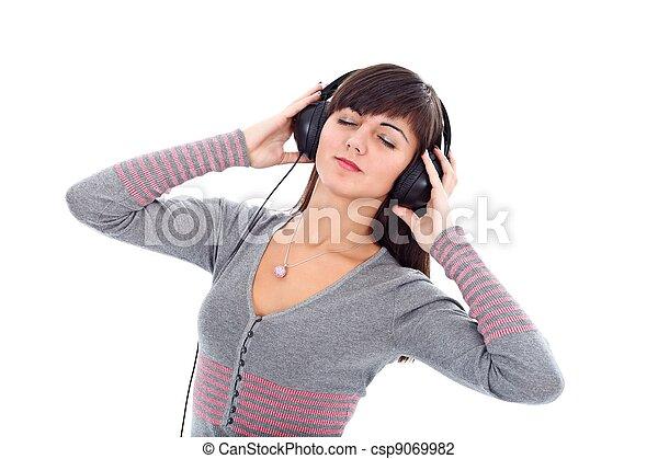 música, tempo - csp9069982