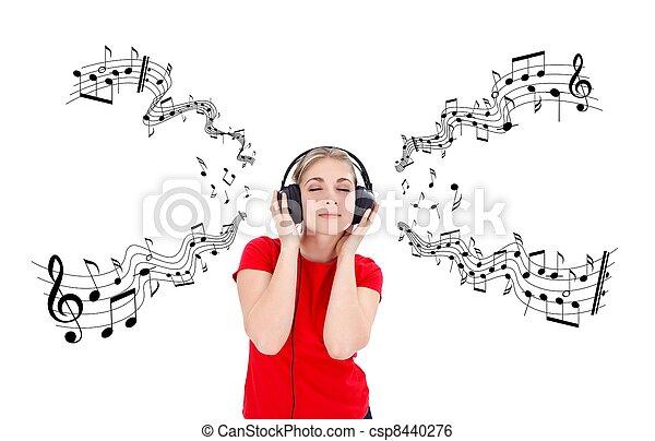 música, tempo - csp8440276