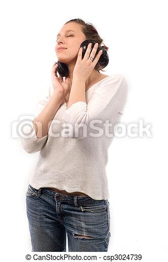 música, tempo - csp3024739