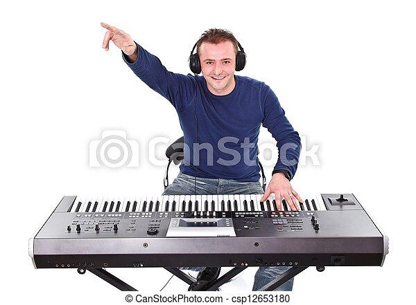 música, tempo - csp12653180