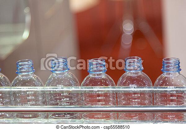 műanyag palack, kézbesítő - csp55588510