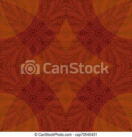 művészet, lineáris, motívum, elvont, seamless, piros - csp70545431