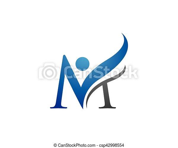 M letter logo template m letter logo business template clipart m letter logo template csp42998554 accmission Gallery