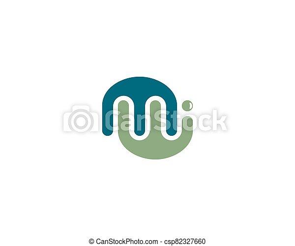 M letter logo vector icon - csp82327660