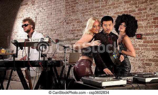 Mac Daddy DJ - csp3602834