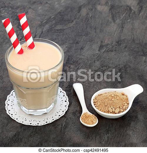 Maca Root Powder Drink - csp42491495
