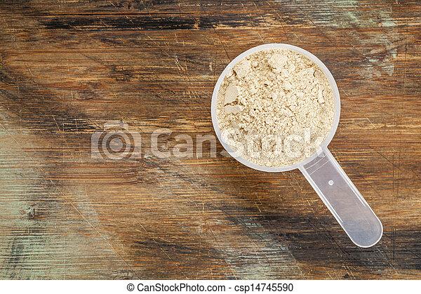 maca root  powder - csp14745590