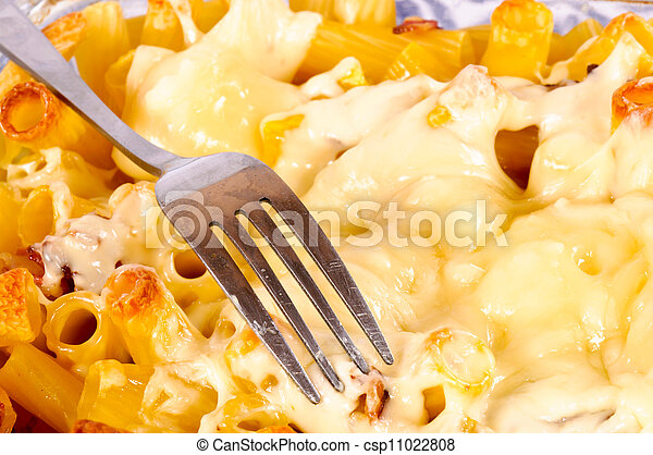 Macaroni with cheese - csp11022808