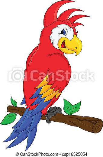 macaw bird cartoon illustration clipart vector search illustration rh canstockphoto ie macaw clipart free macaw clipart black and white