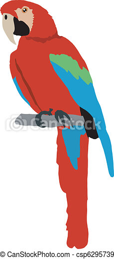 macaw rh canstockphoto com blue macaw clipart macaw parrot clipart