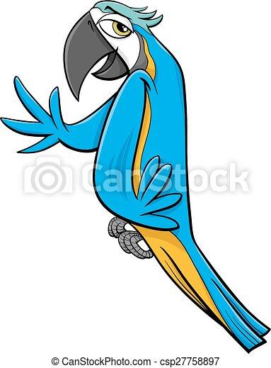 macaw parrot cartoon illustration cartoon illustration of eps rh canstockphoto com macaw clipart images macaw clipart images
