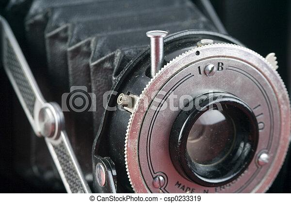 macchina fotografica antica - csp0233319