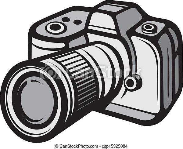 macchina fotografica compatta, digitale - csp15325084