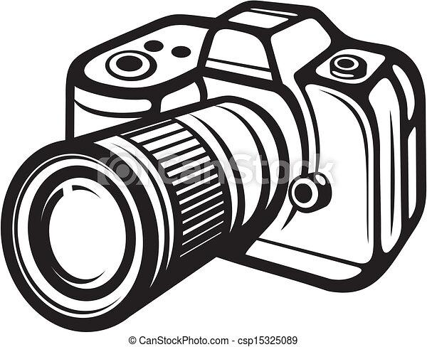 macchina fotografica compatta, digitale - csp15325089