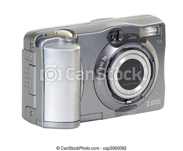macchina fotografica, digitale - csp3060092