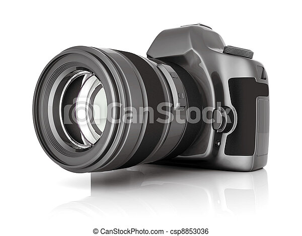 macchina fotografica, digitale - csp8853036