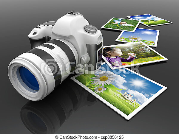 macchina fotografica, digitale - csp8856125
