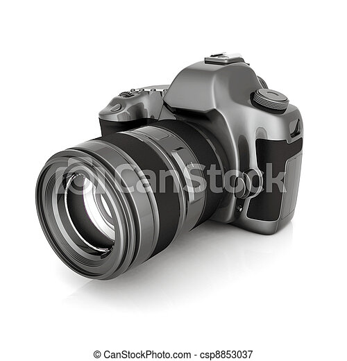 macchina fotografica, digitale - csp8853037