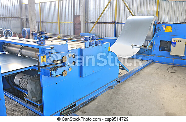 machine for rolling steel sheet  - csp9514729