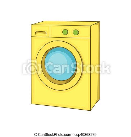 machine ic ne style lavage dessin anim style lavage. Black Bedroom Furniture Sets. Home Design Ideas