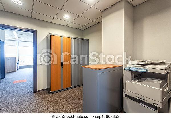 machine, kamer, kantoor, xerox - csp14667352