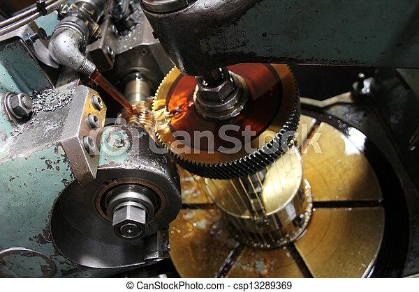 Machine oil - csp13289369