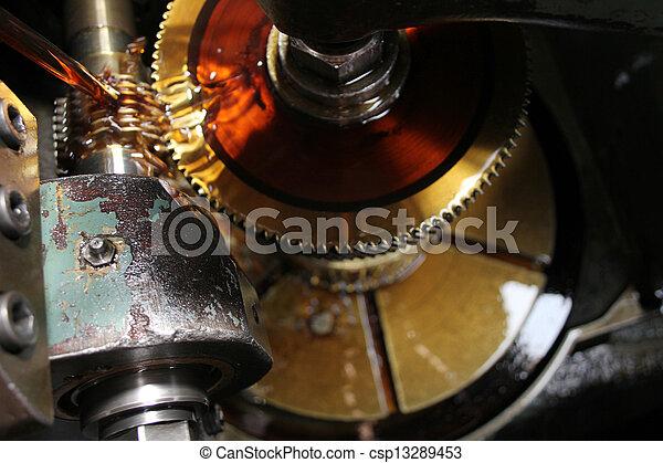 Machine oil - csp13289453