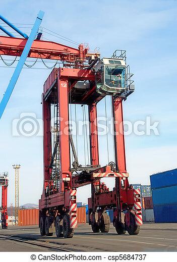 machine, port - csp5684737