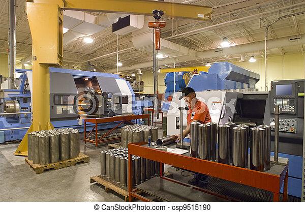 Machine shop worker - csp9515190