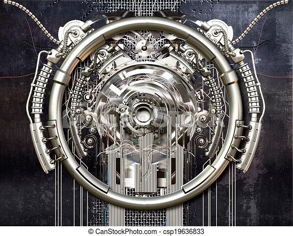 machine, temps - csp19636833