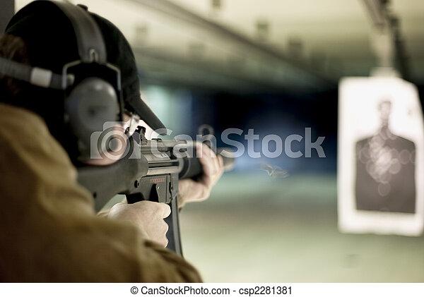 machinegeweer - csp2281381