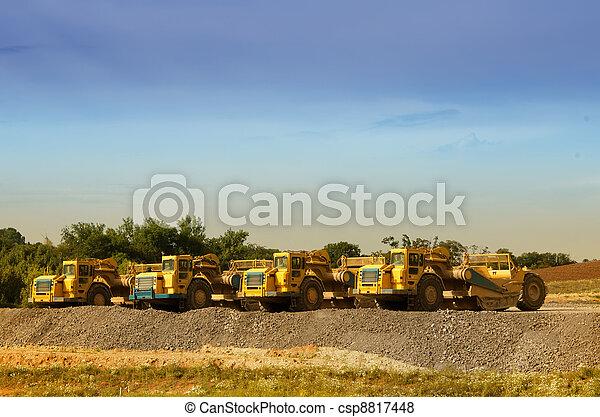 machinerie construction, repos - csp8817448