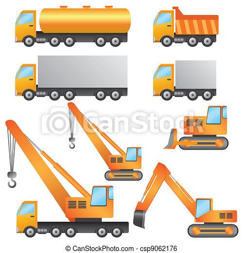 machinery., construção - csp9062176