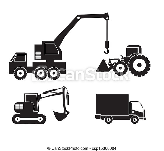 machinery icons  - csp15306084