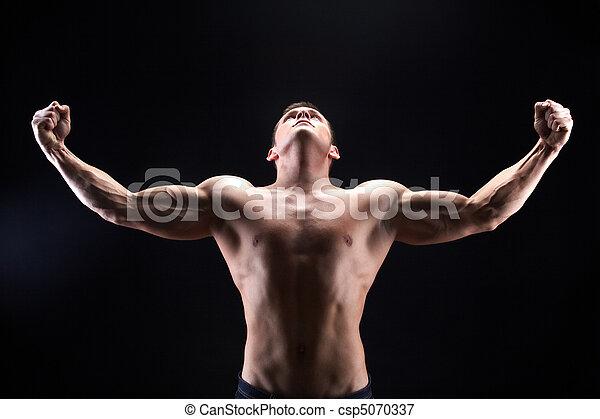 macho, poder - csp5070337