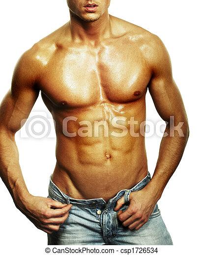 macho, torso, muscular - csp1726534