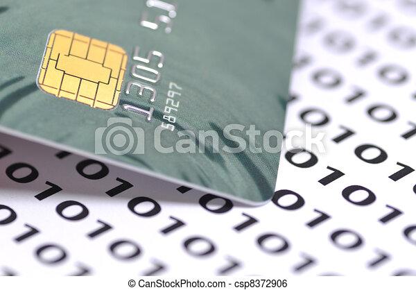 Macro business chip card - csp8372906