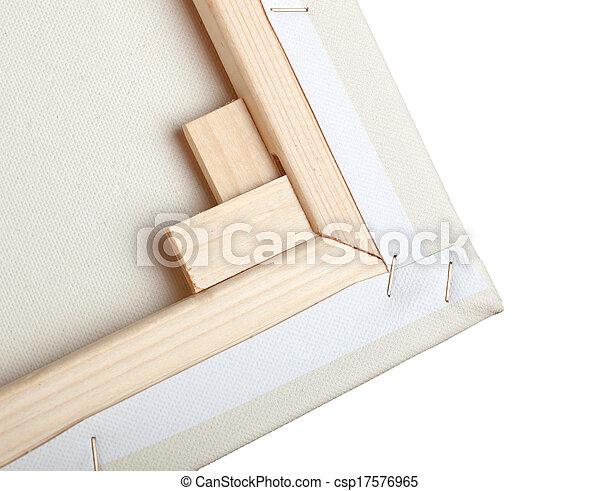 macro, doek, kunstenaar - csp17576965