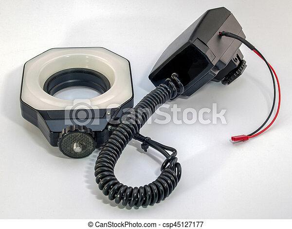 Macro Ring Flash - csp45127177