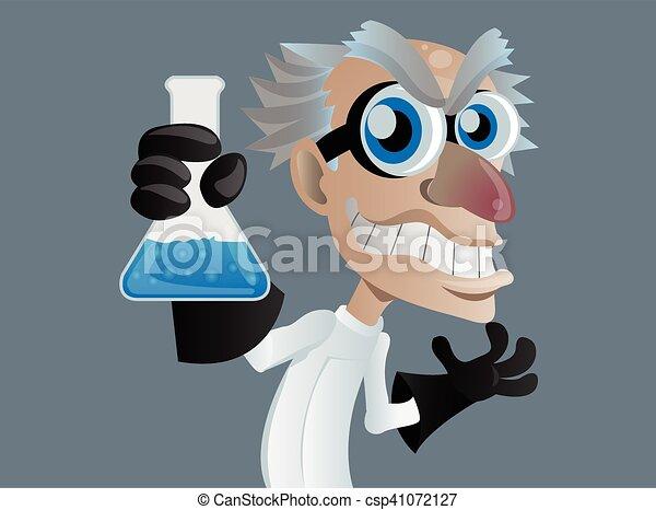 mad scientist - csp41072127