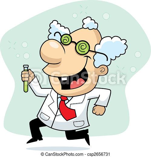 Mad Scientist - csp2656731
