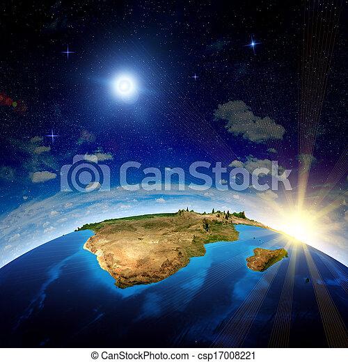 madagaskar, afrikas, süden - csp17008221