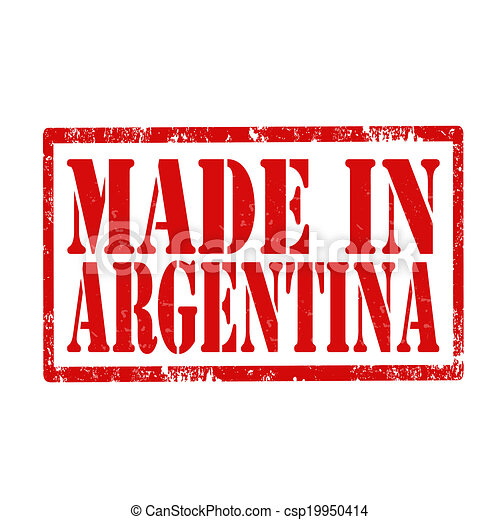 Made In Argentina-stamp