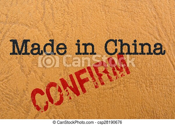 Made in China - csp28190676