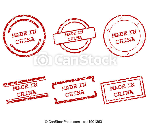Made in China stamps - csp19013631