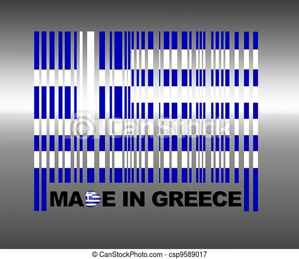 Made in greece. - csp9589017